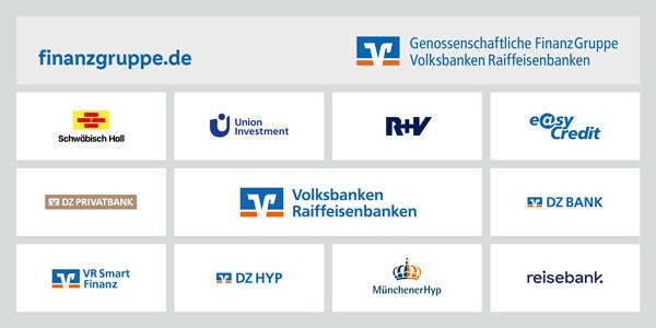 Übersicht über die Partner in der Genossenschaftlichen FinanzGruppe Volksbanken Raiffeisenbanken